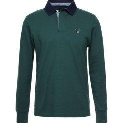 GANT THE ORIGINAL HEAVY RUGGER Koszulka polo june bug green. Zielone koszulki polo GANT, m, z bawełny, z długim rękawem. Za 379,00 zł.