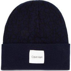 Czapka CALVIN KLEIN - Ck Knitted Beanie M K50K504103 448. Niebieskie czapki męskie Calvin Klein, z bawełny. Za 159,00 zł.