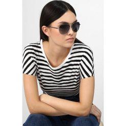 Okulary przeciwsłoneczne damskie: Pilgrim NANI Okulary przeciwsłoneczne silvercoloured