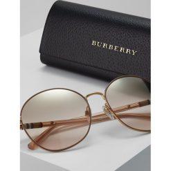 Burberry Okulary przeciwsłoneczne light brown/grad goldcoloured. Brązowe okulary przeciwsłoneczne damskie aviatory Burberry. Za 819,00 zł.