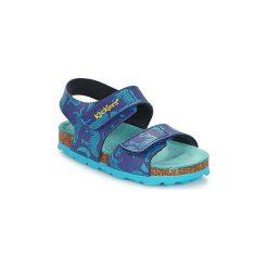 Sandały Dziecko  Kickers  SUMMERKRO. Niebieskie sandały chłopięce Kickers. Za 127,20 zł.
