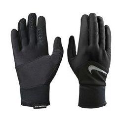 Rękawiczki męskie: Nike Rękawiczki męskie Dri-fit Tempo Run Gloves czarne r. L