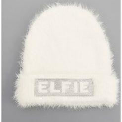 Czapka - Biały. Białe czapki damskie marki Reserved. Za 49,99 zł.