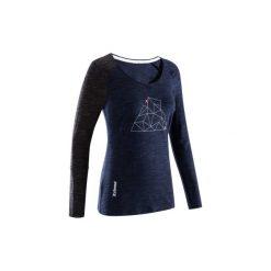 Koszulka wspinaczkowa LADIES PLACE damska. Niebieskie t-shirty damskie marki SIMOND, l, z bawełny. Za 89,99 zł.