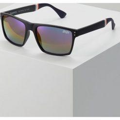 Superdry YAKIMA Okulary przeciwsłoneczne matte black/triple fade revo. Czarne okulary przeciwsłoneczne męskie Superdry. Za 189,00 zł.