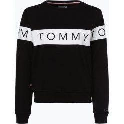 Tommy Jeans - Damska bluza nierozpinana, czarny. Czarne bluzy damskie Tommy Jeans, l, w paski, z jeansu. Za 349,95 zł.