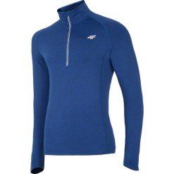 Bluzy męskie: Bluza treningowa męska BLMF205 – niebieski melanż