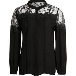 Bluzki asymetryczne: Karen by Simonsen PARTICAL BLOUSE Bluzka black