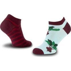 Skarpety Niskie Unisex MANY MORNINGS - Beetroots Bordowy Kolorowy. Czerwone skarpetki męskie marki Happy Socks, z bawełny. Za 19,00 zł.