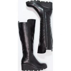 Anna Field Kozaki black. Czarne buty zimowe damskie marki Anna Field, z materiału. W wyprzedaży za 167,20 zł.