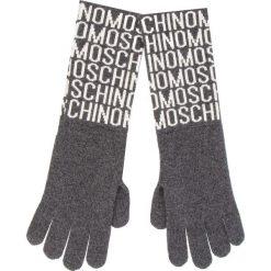 Rękawiczki damskie: Rękawiczki Damskie MOSCHINO - 65132 M1881 015