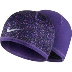 Czapki damskie: czapka do biegania damska dwustronna NIKE WOMEN'S RUN LOTUS BEANIE / 800690-547 - czapka do biegania damska dwustronna NIKE RUN LOTUS BEANIE