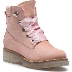 Trapery TAMARIS - 1-26726-31 Light Pink 526. Czerwone buty zimowe damskie marki Tamaris, z nubiku. Za 399,90 zł.