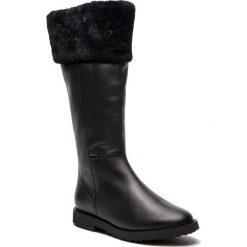 Kozaki HÖGL - GORE-TEX 6-101633 Black 0100. Czarne buty zimowe damskie marki HÖGL, z materiału. W wyprzedaży za 729,00 zł.