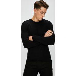 Premium by Jack&Jones - Sweter. Czarne swetry klasyczne męskie Premium by Jack&Jones, l, z bawełny, z okrągłym kołnierzem. Za 169,90 zł.