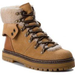 Trapery SEE BY CHLOÉ - SB31120A Grano 133. Brązowe buty zimowe damskie See by Chloé, ze skóry. W wyprzedaży za 1479,00 zł.