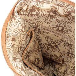 Koniakowa Torebka damska Bag Street Vintage Listonoszka. Brązowe listonoszki damskie marki Bag Street, w paski, ze skóry, duże. Za 99,00 zł.