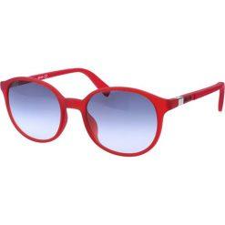 """Okulary przeciwsłoneczne damskie aviatory: Okulary przeciwsłoneczne """"JC726S 66W"""" w kolorze czerwonym"""