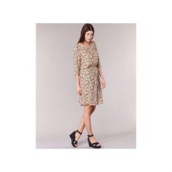 Sukienki krótkie S.Oliver  QUESTABO. Różowe sukienki mini marki numoco, l, z dekoltem w łódkę, oversize. Za 279,20 zł.