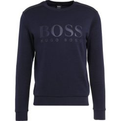 BOSS ATHLEISURE SALBO Bluza navy. Niebieskie kardigany męskie marki BOSS Athleisure, m. W wyprzedaży za 377,30 zł.