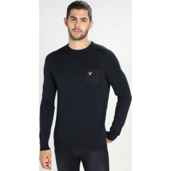 Swetry klasyczne męskie: Lyle & Scott FLECK POCKET JUMPER Sweter dark navy