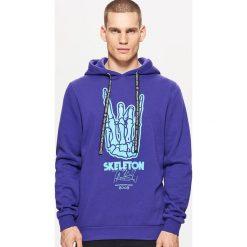 Bluza BALTIC GAMES - Fioletowy. Fioletowe bluzy męskie marki Cropp, l. Za 129,99 zł.