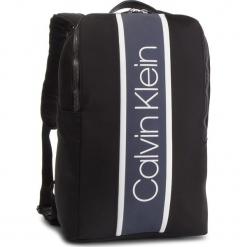 Plecak CALVIN KLEIN - Strike Nylon Backpack K50K504215 001. Czarne plecaki męskie Calvin Klein, z materiału. Za 599,00 zł.