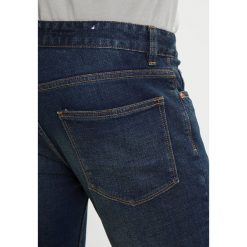 Topman TUCKER  Jeansy Slim Fit blue. Niebieskie rurki męskie Topman. W wyprzedaży za 167,20 zł.