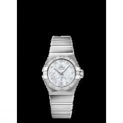 ZEGAREK OMEGA Constellation Automatic 127.10.27.20.55.001. Czarne zegarki damskie marki KALENJI, ze stali. Za 26200,00 zł.