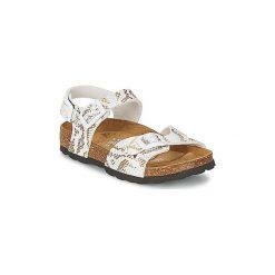 Sandały Dziecko  Betula Original Betula Fussbett  JEAN. Żółte sandały dziewczęce marki Betula Original Betula Fussbett. Za 175,20 zł.
