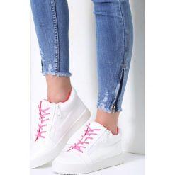 Buty sportowe damskie: Białe Buty Sportowe Let It Go
