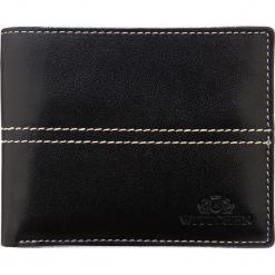 Portfel 14-1-117-1. Czarne portfele męskie Wittchen. Za 135,00 zł.