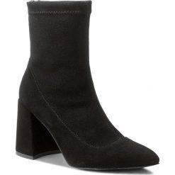Botki EVA MINGE - Jaen 3D 18GR1372412ES  801. Czarne buty zimowe damskie Eva Minge, z materiału. W wyprzedaży za 399,00 zł.