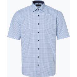 Nils Sundström - Koszula męska, niebieski. Brązowe koszule męskie na spinki marki QUECHUA, m, z elastanu, z krótkim rękawem. Za 99,95 zł.