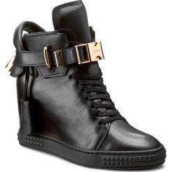Sneakersy CARINII - B3767/NO E50-000-PSK-B88. Czarne botki damskie skórzane marki Carinii. W wyprzedaży za 319,00 zł.