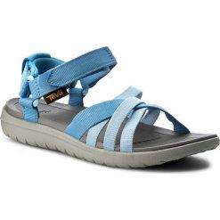 Sandały TEVA - Sanborn Sandal 1015161 Blue. Niebieskie sandały damskie Teva, z materiału. W wyprzedaży za 189,00 zł.