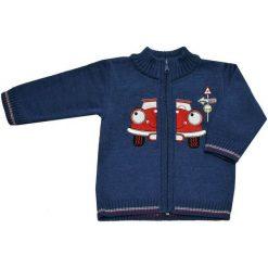 EKO Sweter Chłopięcy Z Autem 92 Niebieski. Niebieskie swetry chłopięce EKO, z bawełny. Za 93,00 zł.
