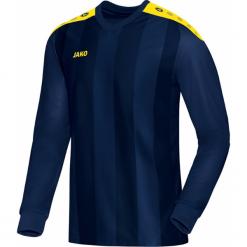 Koszulki sportowe męskie: Jako Porto koszulka z długim rękawem – Mężczyźni – granatowy / Citro _ s