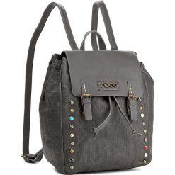 Plecak NOBO - NBAG-D3350-C019 Szary. Szare plecaki damskie Nobo, ze skóry ekologicznej, eleganckie. W wyprzedaży za 139,00 zł.