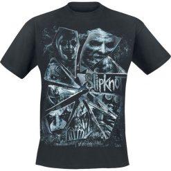 Slipknot Broken Glass T-Shirt czarny. Czarne t-shirty męskie z nadrukiem marki Slipknot, m, z kapturem. Za 74,90 zł.
