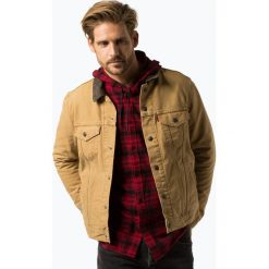Levi's - Kurtka męska – Justin Timberlake, żółty. Żółte kurtki męskie bomber Levi's®, l, w kratkę. Za 449,95 zł.