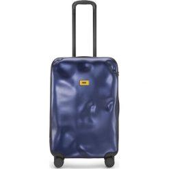 Walizka Icon średnia granatowa. Szare walizki marki Crash Baggage, z materiału. Za 1040,00 zł.