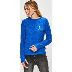 Femi Stories - Bluza Bouncy. Niebieskie bluzy damskie marki Femi Stories, l, z bawełny, bez kaptura. W wyprzedaży za 199,90 zł.
