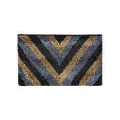 Puzderka: Kopertówka w kolorze czarno-srebrno-złotym – (D)25 x (S)15 cm