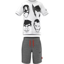 T-shirty chłopięce: Adidas Originals Koszulka dziecięca The Avengers Summer DGH biały r. 110 cm (AK2529)