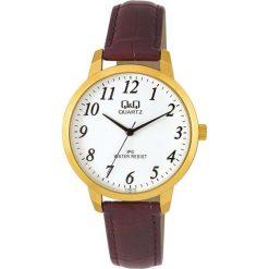 Zegarek Q&Q Męski  C154-114 Klasyczny brązowy. Brązowe zegarki męskie Q&Q. Za 82,13 zł.