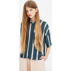 Koszule damskie: Koszula z krótkim rękawem w paski