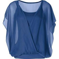 Bluzki damskie: Bluzka shirtowa bonprix błękit królewski
