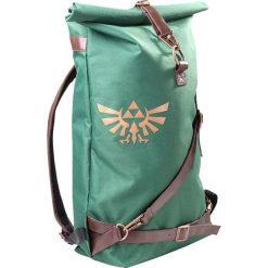 The Legend Of Zelda Plecak zielony. Zielone plecaki męskie The Legend Of Zelda, w paski. Za 99,90 zł.