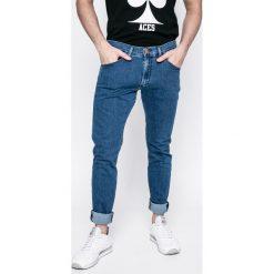 Wrangler - Jeansy BRYSON. Niebieskie jeansy męskie skinny marki House, z jeansu. W wyprzedaży za 149,90 zł.